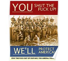 WE'LL PROTECT AMERICA! OEF 8 Poster