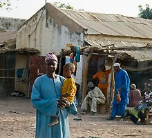 Senegal street scene by Sue Robinson