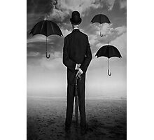 Magritte Style Photographic Print