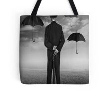 Magritte Style Tote Bag