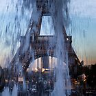 Trocadero fountains by SergiWave