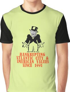 Donald Trump - An American Disaster Graphic T-Shirt