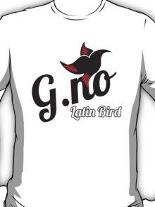 G.No Latin Bird T-Shirt