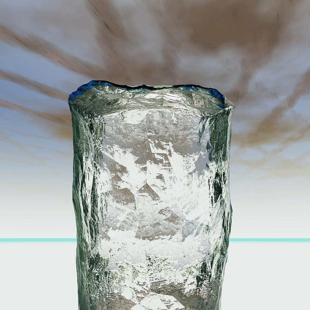 Column of Ice by Benedikt Amrhein