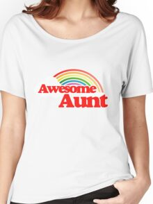 Awesome Aunt Women's Relaxed Fit T-Shirt