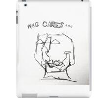 WHO CARES iPad Case/Skin