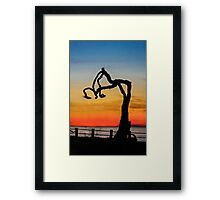 Bent & Weary...Making a Statement Framed Print