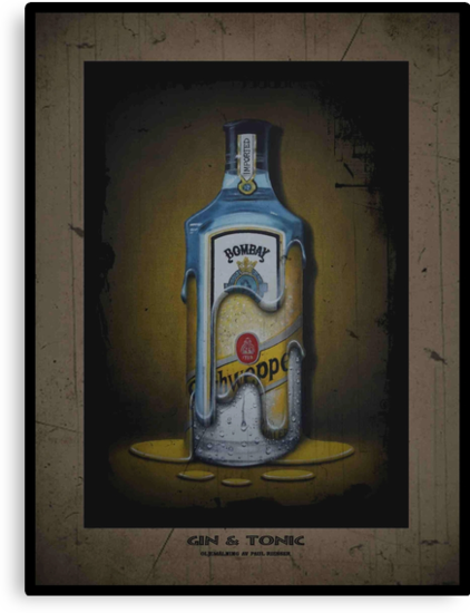 Gin and Tonic by Paul Riesser