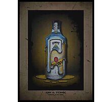 Gin and Tonic Photographic Print