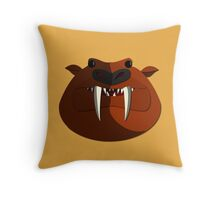 Bunyip Throw Pillow