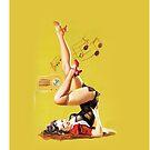 pin up girl 2 by ioanna1987