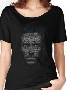 House MD made with text Women's Relaxed Fit T-Shirt