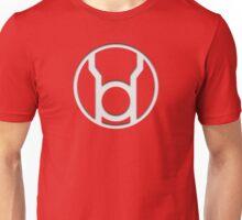 Red Lantern Insignia (White) Unisex T-Shirt