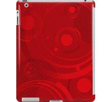Dignified Swirls - Red iPad Case/Skin