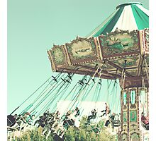 Swing Chairs  Photographic Print