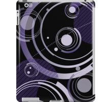 Dignified Swirls - Black iPad Case/Skin
