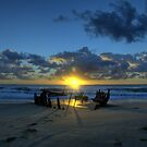 Dicky Beach, Queensland, Australia by ZENNON