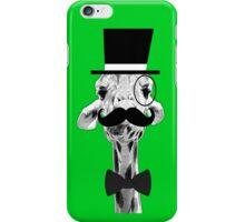 Fancy Giraffe iPhone Case/Skin