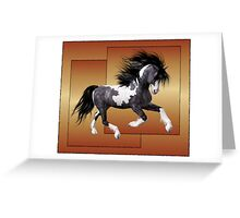 Horse 1 .. calendar Greeting Card