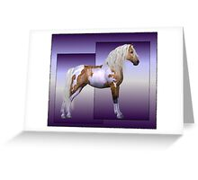 Horse 3 .. calendar Greeting Card