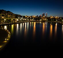 East Perth at Twilight by Sandra Chung
