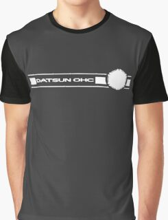 Datsun OHC (White) Graphic T-Shirt