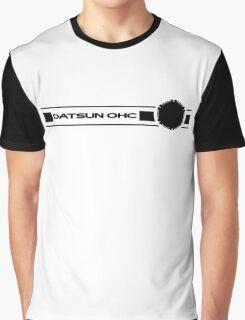 Datsun OHC (Black) Graphic T-Shirt