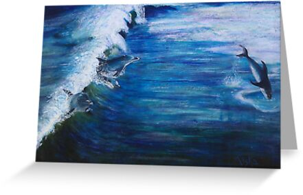 Jumping the Waves by Ciska