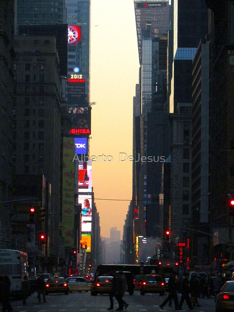 Broadway, New York City  by Alberto  DeJesus