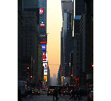 Broadway, New York City  Photographic Print