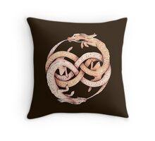 Luck Dragons Throw Pillow