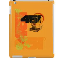 farenheit 451 iPad Case/Skin