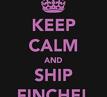 Keep Calm And Ship Finchel by msleamichele