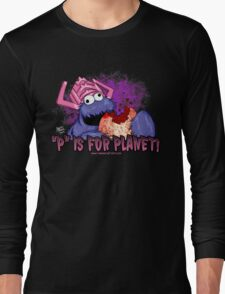 P is For Planet Long Sleeve T-Shirt