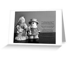 Happy Snow Greeting Card