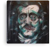 """Edgar Allan Poe """"Death"""" Canvas Print"""