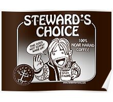 Steward's Choice Coffee Poster