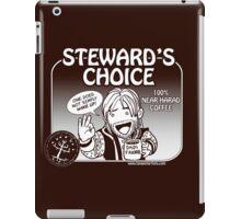 Steward's Choice Coffee iPad Case/Skin