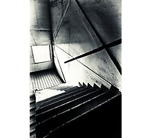 Old Staircase Photographic Print