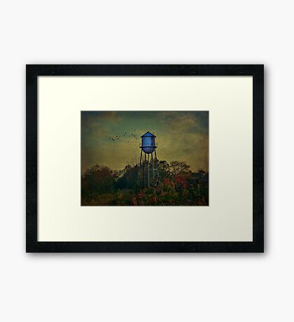 The Old Forgotten Tower Framed Print