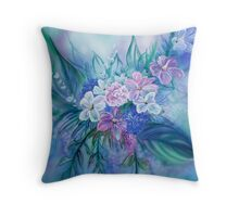 Something New Something Blue Throw Pillow