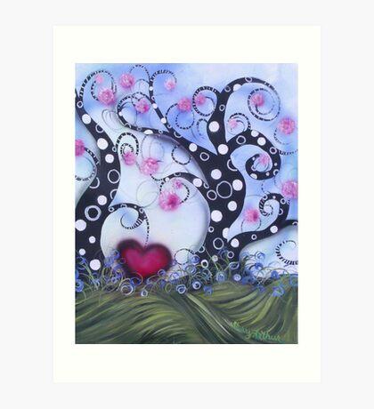 Natures Love Song Art Print