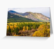 Methow River Valley Greeting Card