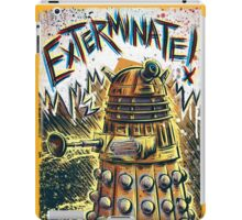 Dalek Dr Who art the Doctor Who BBC davros tardis the doctor david tennant exterminate matt smith british gridlock stolen earth sci fi christmas joe badon iPad Case/Skin