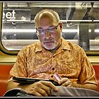 Tablet Reader by Mikell Herrick