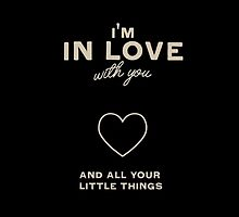 Little Things Lyrics by Hannah Julius