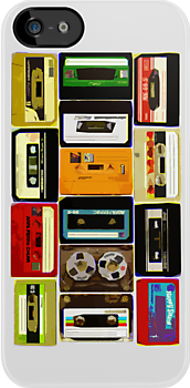 Retro Audio Cassette Tapes by HighDesign