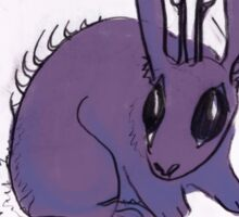 MBTI GHOSTS AND GHOULS- JACKALOPE MONSTER RABBIT Sticker
