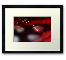 Drenched in Wine Framed Print