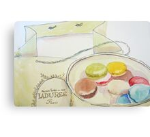 French Macarons Canvas Print